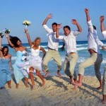 Destination Wedding - Melissa & Ryan's Wedding Party 1